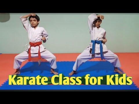 Karate class for kids || Learn kids karate at home || Karate kids