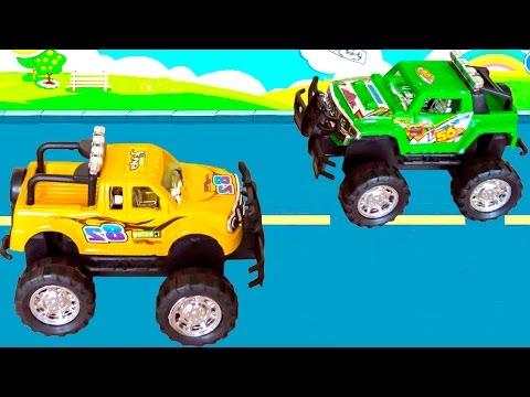 Машинки для детей. Учим цвета а также учимся считать. Седа ТВ