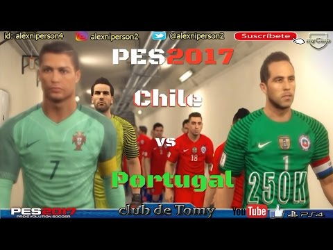 PES 2017 | CHILE VS PORTUGAL | DUELO DE CAMPEONES