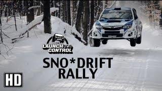 Sno*Drift Rally Higgins fights to win after crash (Part 2) - Launch Control Episode 3