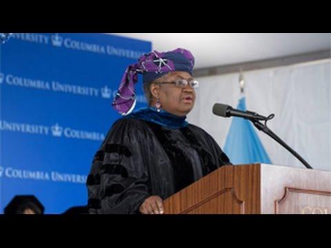 SIPA Graduation 2016: Ngozi Okonjo-Iweala