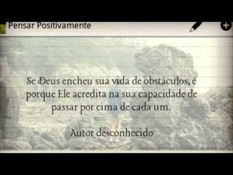 Video of Think Positively in Portuguese