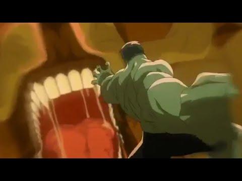 Planet Hulk (first fight) Scene