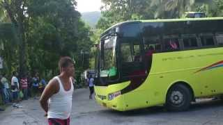 Pintuyan Philippines  city photos gallery : Bachelor Express Trap at Curved road in Pintuyan, So. Leyte