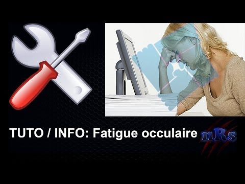 comment soulager fatigue oculaire