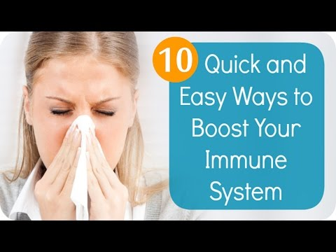 Boost Your Immune System with 10 Simple and Natural Ways