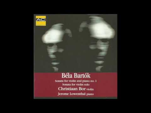 BARTÓK  Sonata For Violin And Piano No.1 (1921)