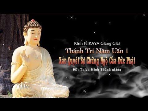 Kinh NIKAYA Giảng Giải - Thánh Trí Năm Uẩn 1 - Xác Quyết Sự Chứng Ngộ Của Đức Phật