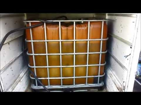 How To Filter Waste Vegetable Oil Fuel ( WVO)