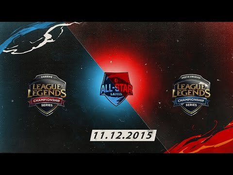 [11.12.2015] EU vs NA [All Star 2015]