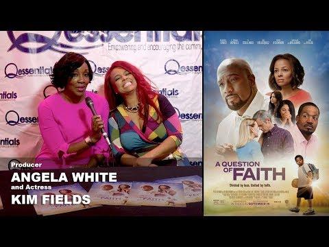 Kim Fields & Angela White - A Question Of Faith Interview (видео)