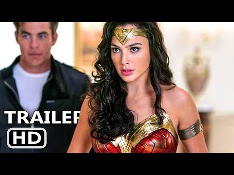 WONDER WOMAN 2 Trailer # 2 (NEW 2020) Gal Gadot, Wonder Woman 1984 DC Fandom Movie HD
