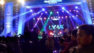 Suasana Konser Musik The Playground HUT Tulungagung 812, Ada Lyla (GOR Lembupeteng, 11-11-2017)