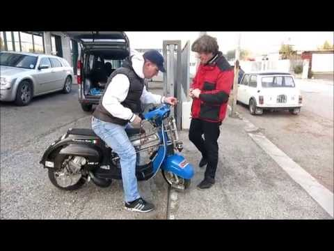 bsg rotary - vespa 100mph (speed test)