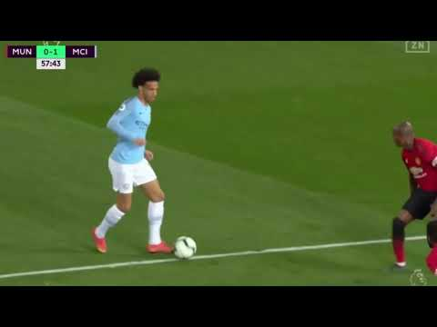 HIGHLIGHTS Leroy Sané Vs Manchester United (24.04.2019)