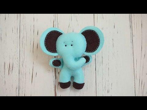 How To Make A Cute Felt Elephant - DIY Crafts Tutorial - Guidecentral