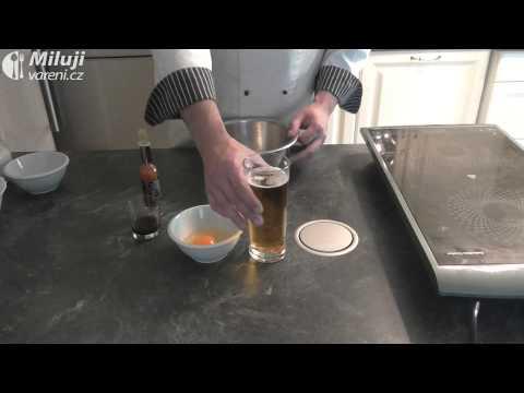 Krevety v pivním těstíčku