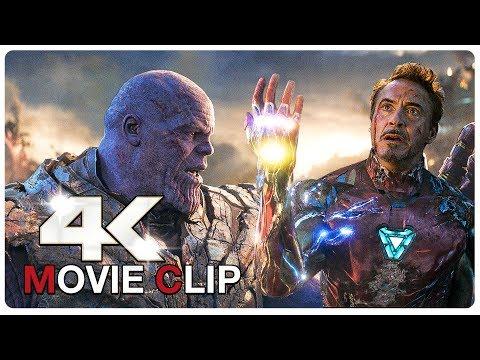 Iron Man Vs Thanos - Final Battle Scene - AVENGERS 4 ENDGAME (2019) Movie CLIP 4K