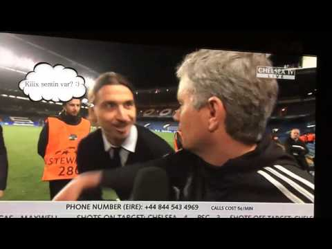 Ibrahimovic wishes Mourinho  good luck  in the Champions Le 2 0