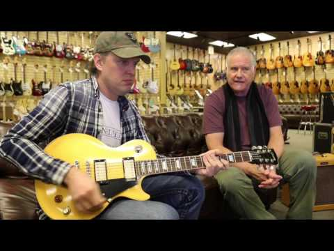 Joe Bonamassa trades his Gibson Les Paul Goldtop at Norman's Rare Guitars