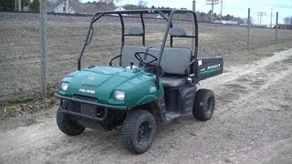 7. Polaris Ranger 500 First Ride 2001 2002 Series 10