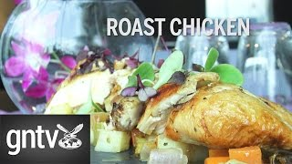 How to make perfect roast chicken. Chef Aatir Dhadalla of the Meliá Dubai hotel shows us how to make a perfect roast chicken.
