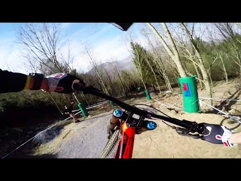 Downhill MTB Course Preview on Technical French Trail