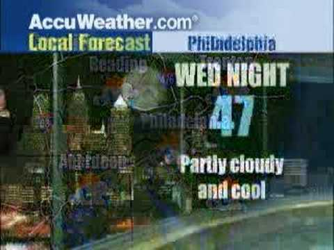 Jim Kosek - Philly forecast 5-21-08