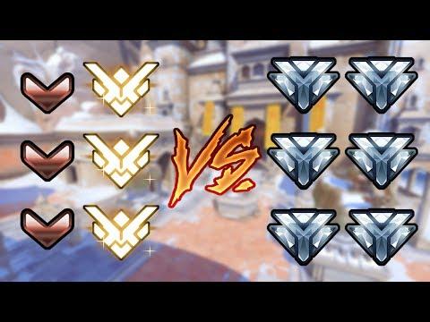 3宗師+3銅牌 vs 6個鑽石玩家