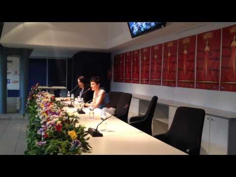 Arisa, conferenza stampa Sanremo 2014