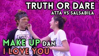 Video TRUTH or DARE! Make Up dan i love you!? SALSABILA vs ATTA MP3, 3GP, MP4, WEBM, AVI, FLV Januari 2019