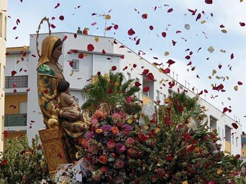 Procesión Virgen del Mar 2019 (Llegada y Saludo Casa Hermandad)