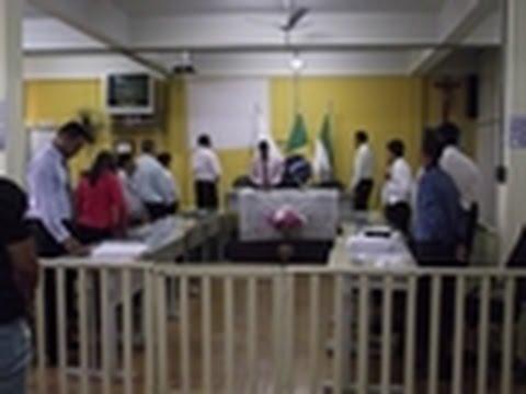 Sessão Solene para eleição da posse da Mesa Diretora da Câmara de Vereadores para o Exercício de 2015