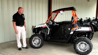 2. 2013 Ranger RZR S 800 Orange/White LE