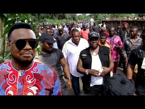 Ken Erics & Mr Ibu With Nigerian Nollywood Mourns Another Great Icon 2018