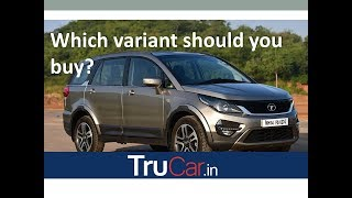 Tata Hexa Variants Explained XE, XM, XMA, XT, XTA, XT - AWD in हिन्दी
