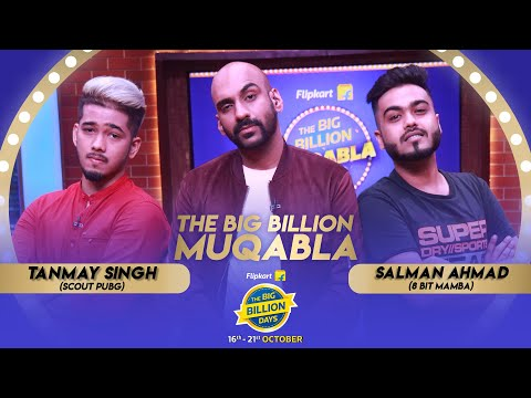 Flipkart Big Billion Muqabala   Episode 7: scOut vs 8 Bit Mamba   Sahil Khattar