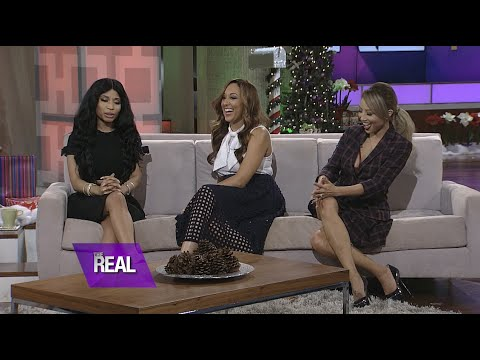 """calls - During her visit on """"The Real,"""" Nicki Minaj spill the deets on her new album """"The Pink Print"""" and gushes over her collaboration with Beyoncé. Find out why she called Queen Bey her..."""