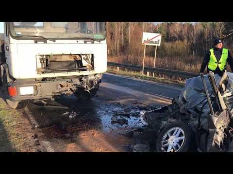 Wideo1: Wypadek w Nowej Wsi (gmina Wschowa)
