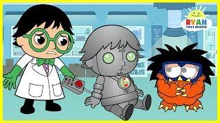 Video Ryan Builds a Robot Cartoon Animation for Kids!!! MP3, 3GP, MP4, WEBM, AVI, FLV Februari 2019
