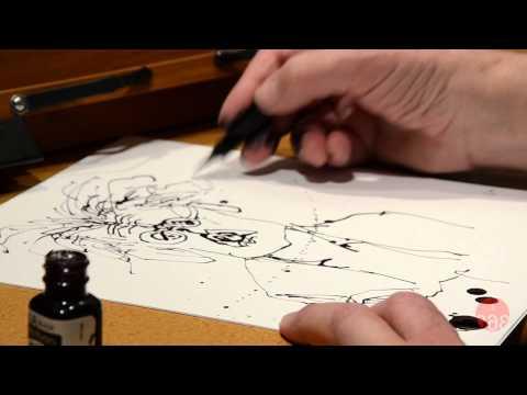 Studio 360: Ralph Steadman Draws Kurt Andersen