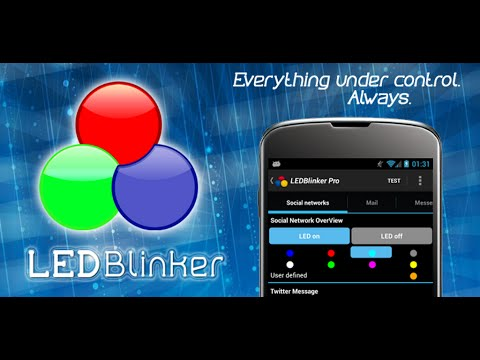 Video of LED Blinker Notifications Lite