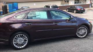 9. For sale or lease 2018 Toyota Avalon Limited in Brooklyn NY