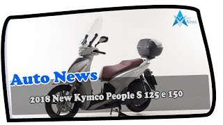 7. AWESOME!!!2018 New Kymco People S 125 e 150