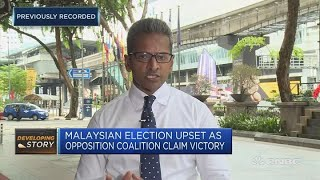 Mahathir Mohamad, former Malaysian prime minister, claims victory | Squawk Box Asia