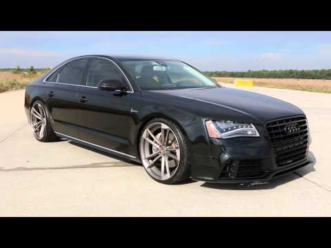 2011 Audi A8 RS Tribute For Sale~RSQUAI IRO 2 Piece Wheels~Hofele Body Kit~Absolutely Beautiful