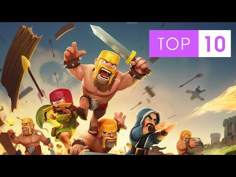 Top 10 Most Popular iPhone And iPad Games 2014