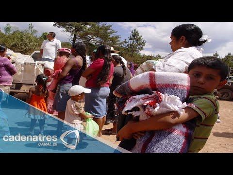 Habitantes de Guerrero abandonan sus casas por la violencia en el estado