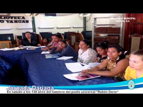 Jornada Dariana 2015 Biblioteca Municipal Ocotal Nueva Segovia