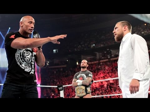 Rock reveals he will fight for the WWE Title at Royal Rumble 2013: Raw, July 23, 2012
